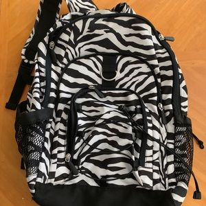 PB Teen Zebra Gear Up Backpack & Lunchbox